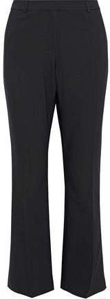 Cotton-blend Flared Pants