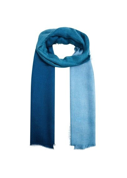 Violeta BY MANGO Ombré bicolor scarf