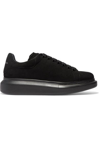 Alexander McQueen | Suede exaggerated-sole sneakers | NET-A-PORTER.COM
