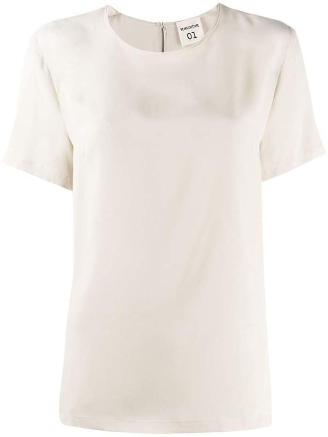 Semicouture short-sleeve top