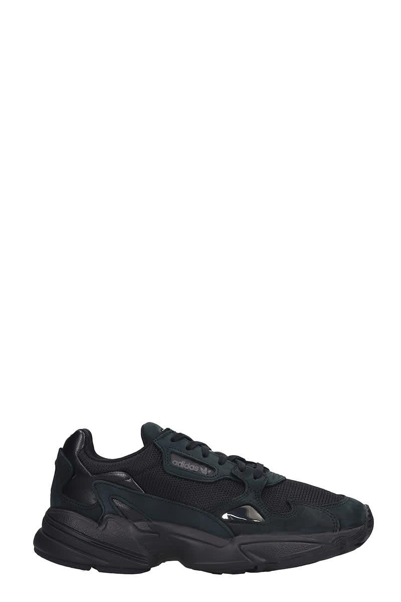 Adidas Falcon Sneakers In Black Tech/synthetic