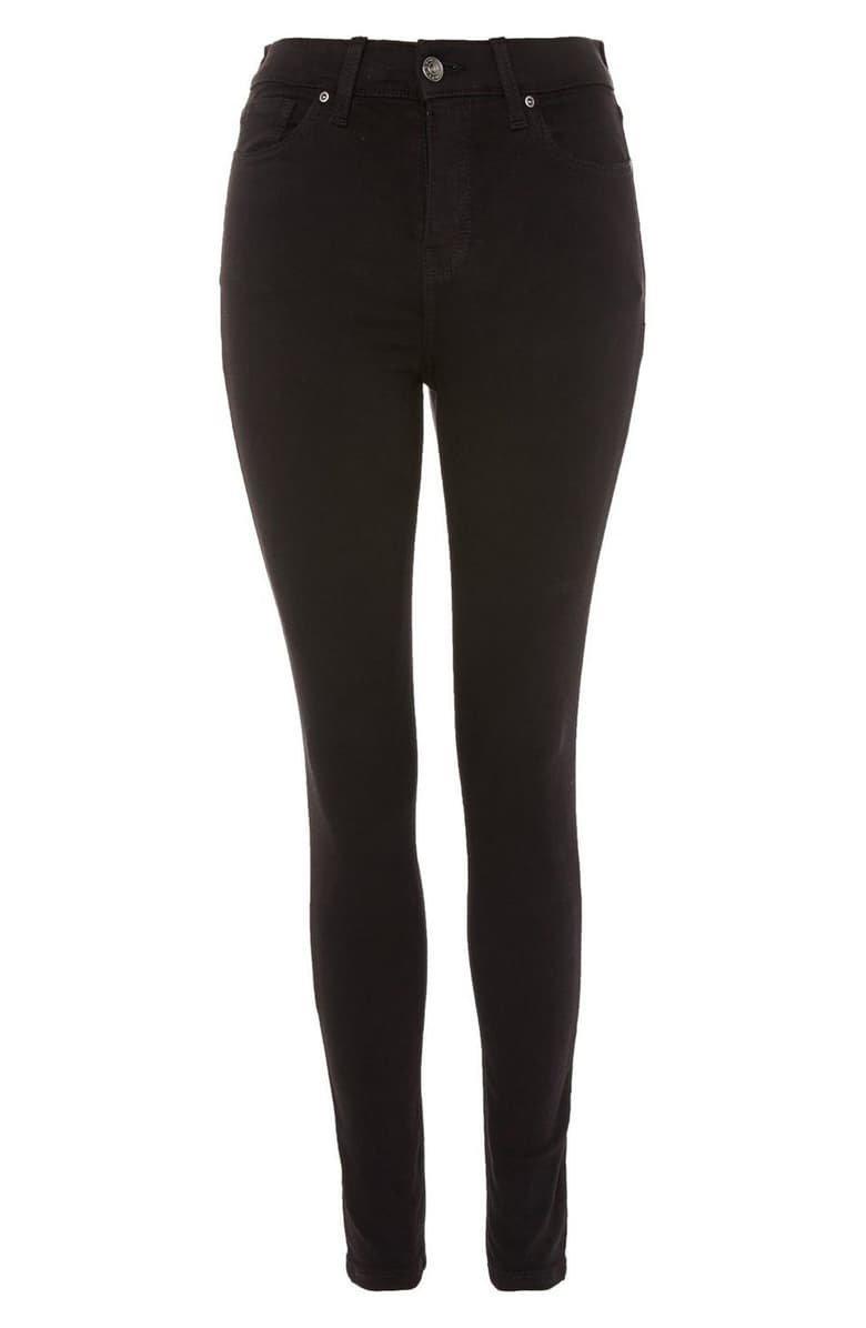 Topshop Jamie High Waist Black Jeans (Regular & Petite)   Nordstrom