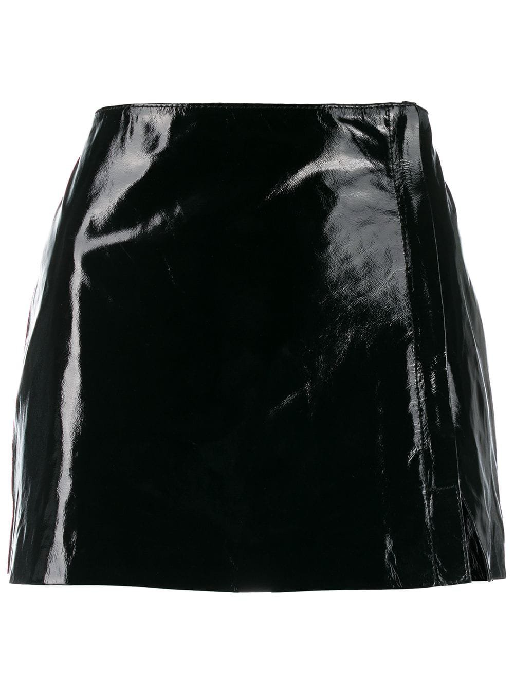 P.A.R.O.S.H. short leather skirt £256 - Shop Online. Same Day Delivery in London