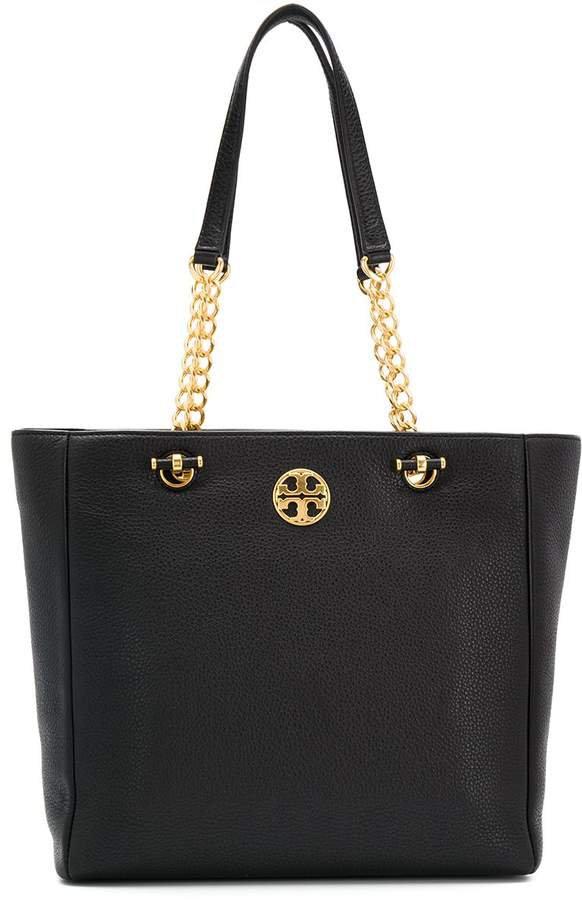chain strap tote bag