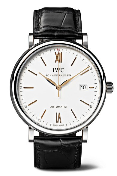 IWC SCHAFFHAUSEN | Portofino Automatic 40mm stainless steel and alligator watch | NET-A-PORTER.COM