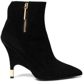 Horror Suede Ankle Boots