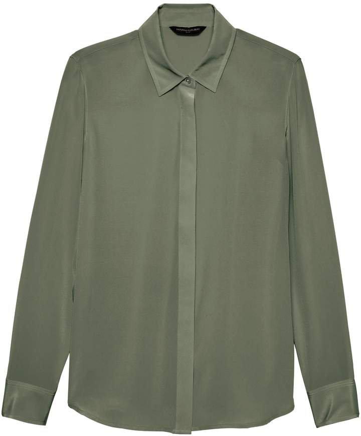 Dillon Classic-Fit Washable Silk Shirt