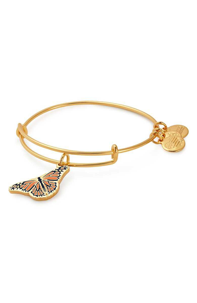 Alex and Ani Charity by Design Monarch Butterfly Charm Bracelet | Nordstrom