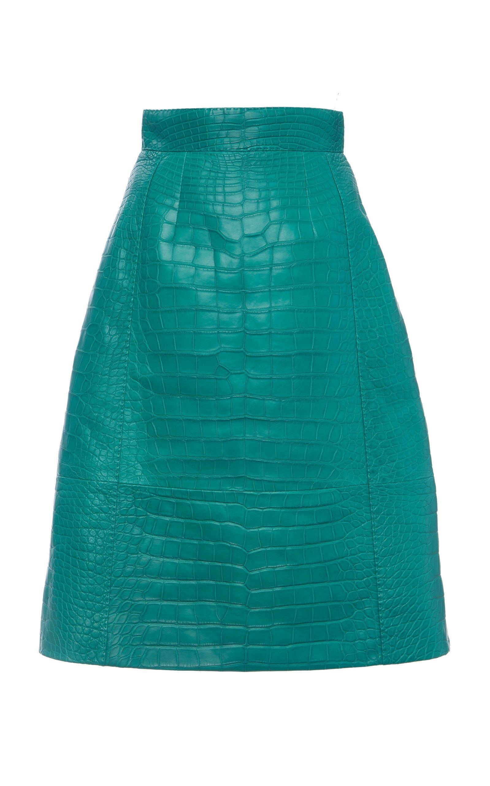 Dolce & Gabbana Crocodile Skirt Size: 38