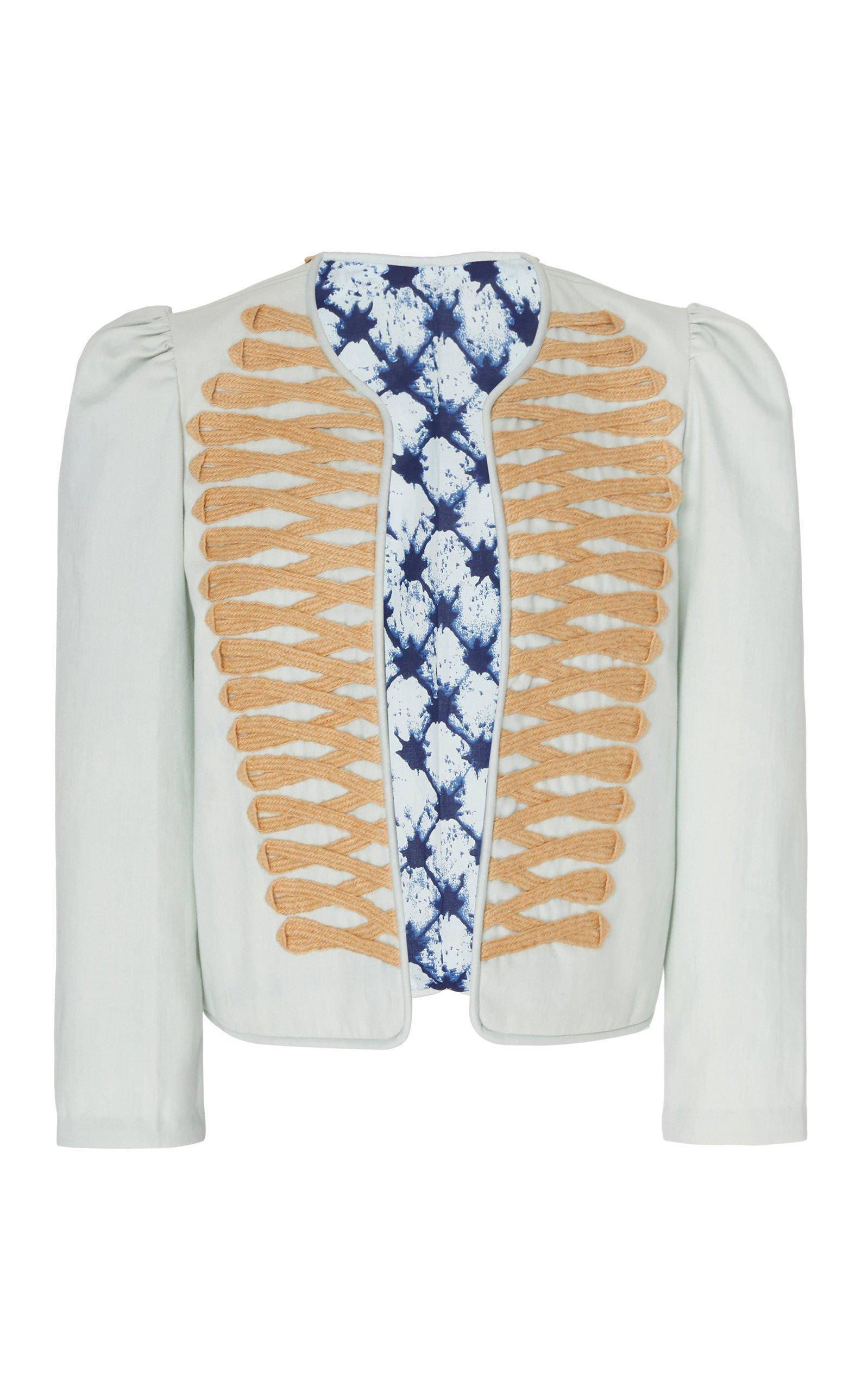 Alix of Bohemia Joni Cotton Jacket Size: M