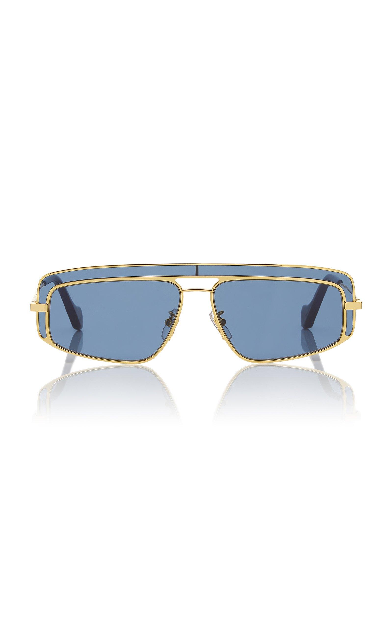 Loewe Sunglasses Square-Frame Metal Sunglasses