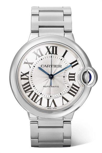 Cartier | Ballon Bleu de Cartier 36.6mm stainless steel watch | NET-A-PORTER.COM