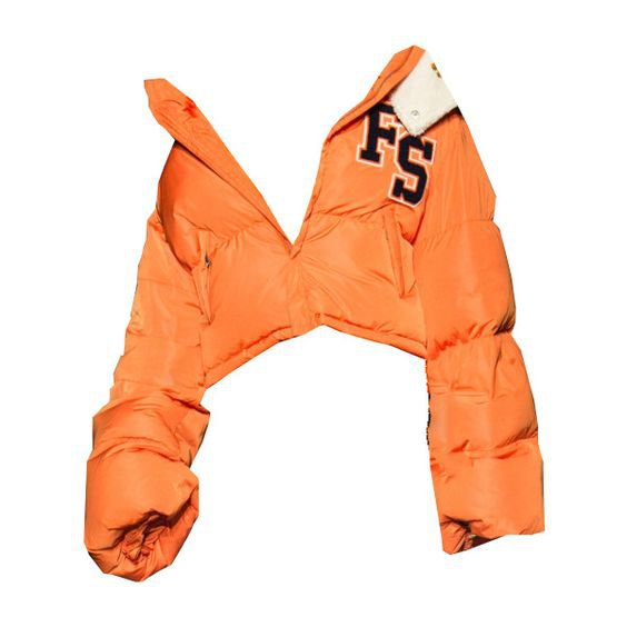 Puma Fenty Cropped Hooded Puffer Coat