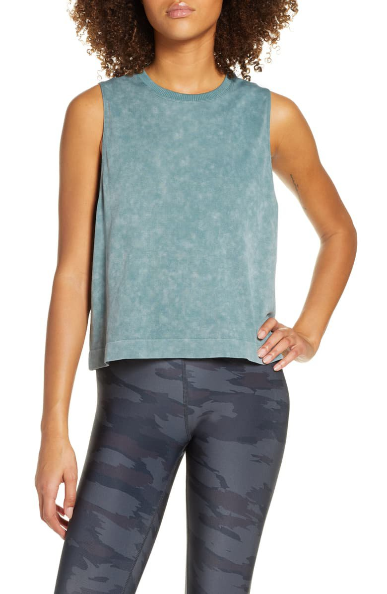 Soul by SoulCycle Seamless Crop Tank | Nordstrom