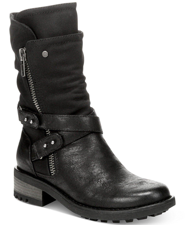Carlos by Carlos Santana Sawyer Moto Booties & Reviews - Boots - Shoes - Macy's