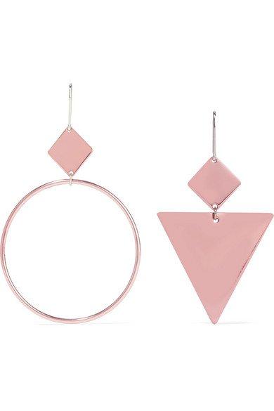 Isabel Marant | Rose gold-tone earrings | NET-A-PORTER.COM