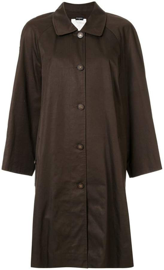 Pre-Owned oversized coat