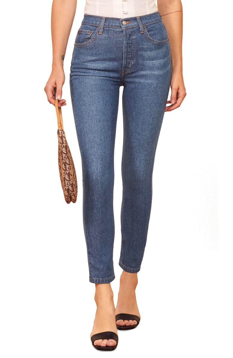 Reformation Serena High Waist Skinny Jeans | Nordstrom