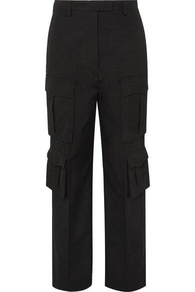 Prada | Cotton-gabardine cargo pants | NET-A-PORTER.COM