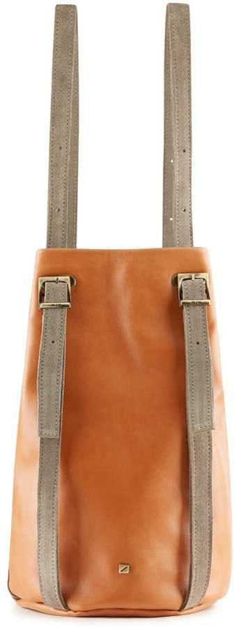 Maria Maleta - Drawstring Backpack Amber