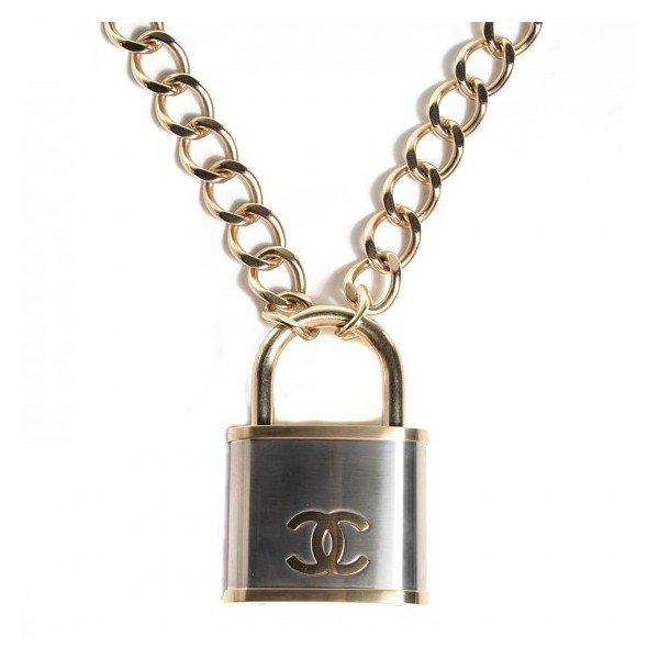 Chanel Padlock Necklace