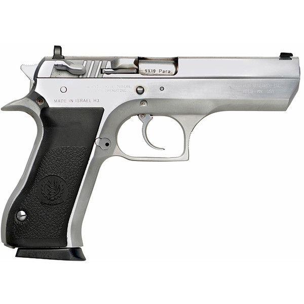 Black & Silver Tactical Hand Gun
