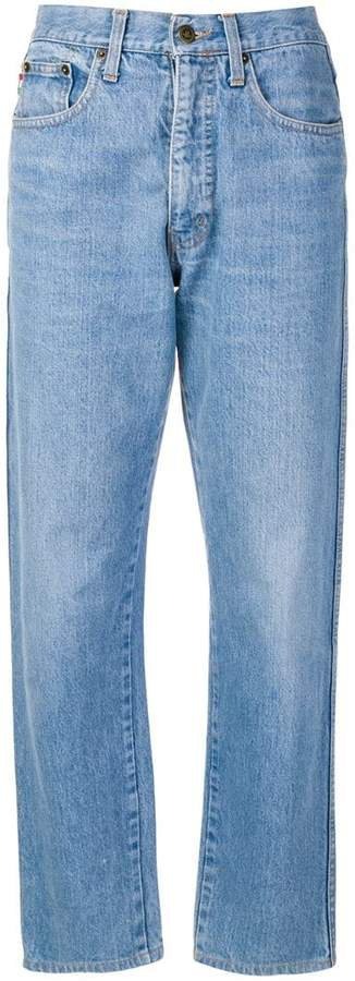 Pre-Owned 1980's straight-leg jeans
