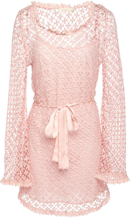 Gretel Crochet Mini Dress