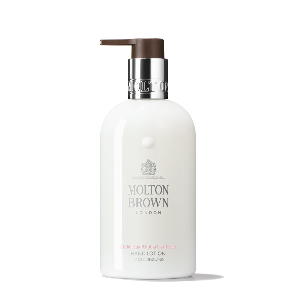 Delicious Rhubarb & Rose Hand Lotion | Molton Brown