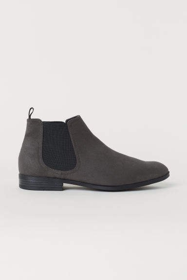 Chelsea-style Boots - Gray