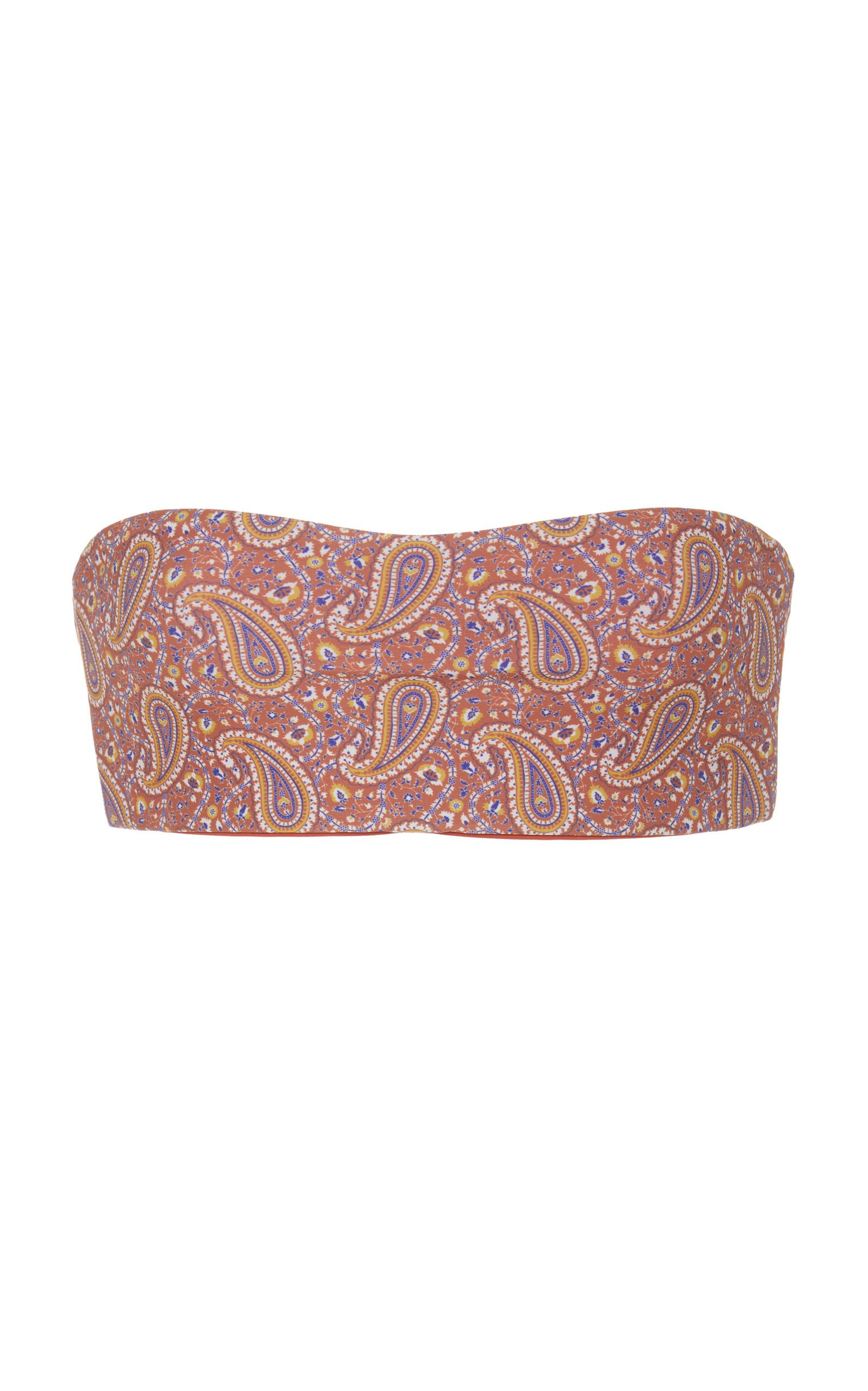 Palm Mesa Bandeau Bikini Top