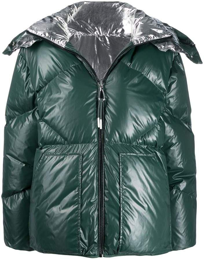 Paris reversible puffer jacket