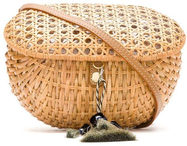 straw box bag