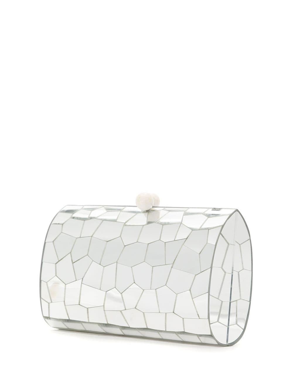 Serpui Mirrored Clutch Bag - Farfetch