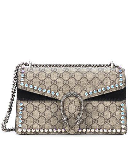 Dionysus GG Supreme Small coated canvas shoulder bag