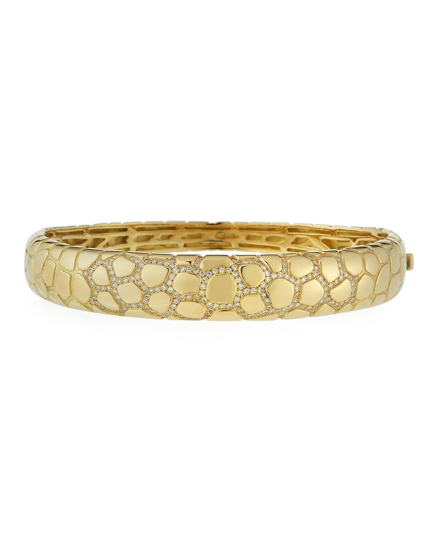 Vendorafa Anaconda 18K Gold Diamond Bracelet