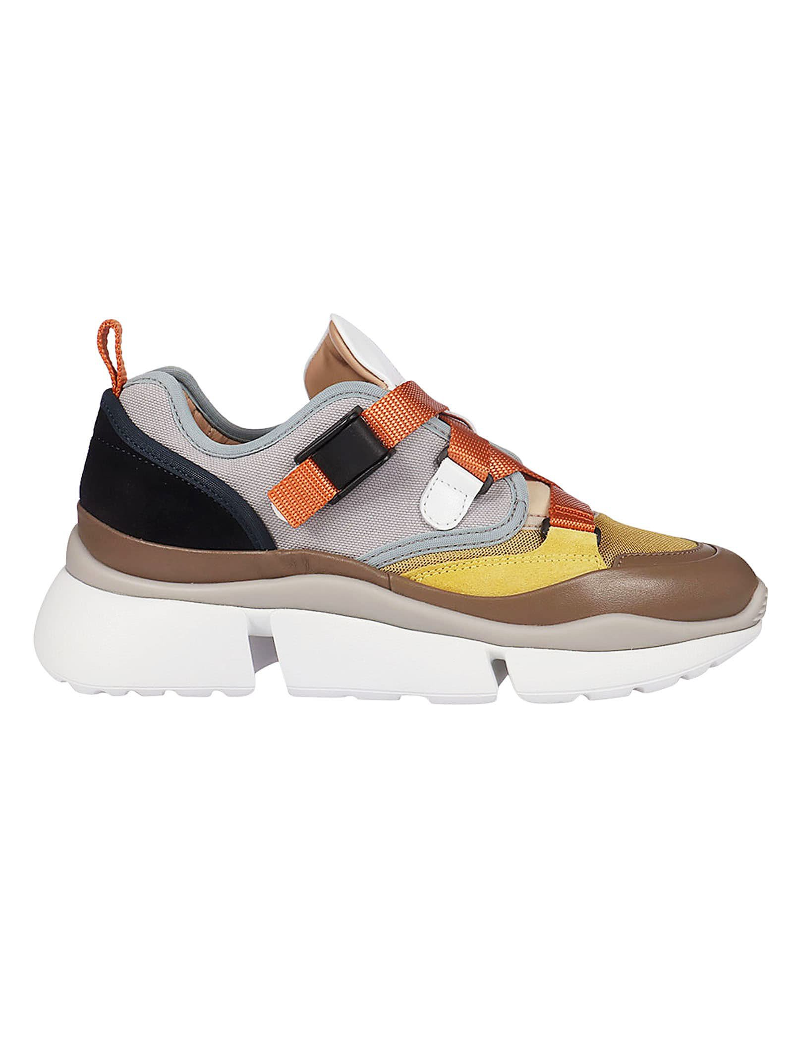 Chloé Buckled Sneakers