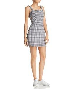 AQUA Gingham Tie-Back Dress - 100% Exclusive | Bloomingdale's