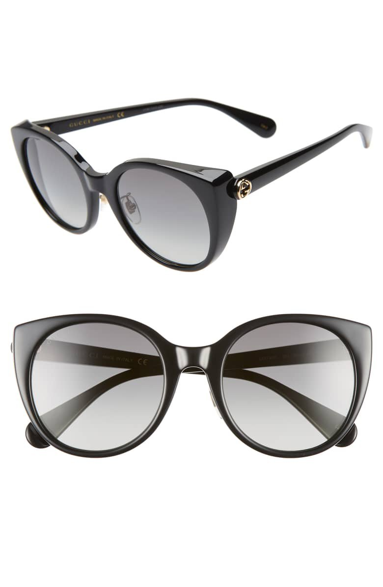 Gucci 54mm Cat Eye Sunglasses | Nordstrom