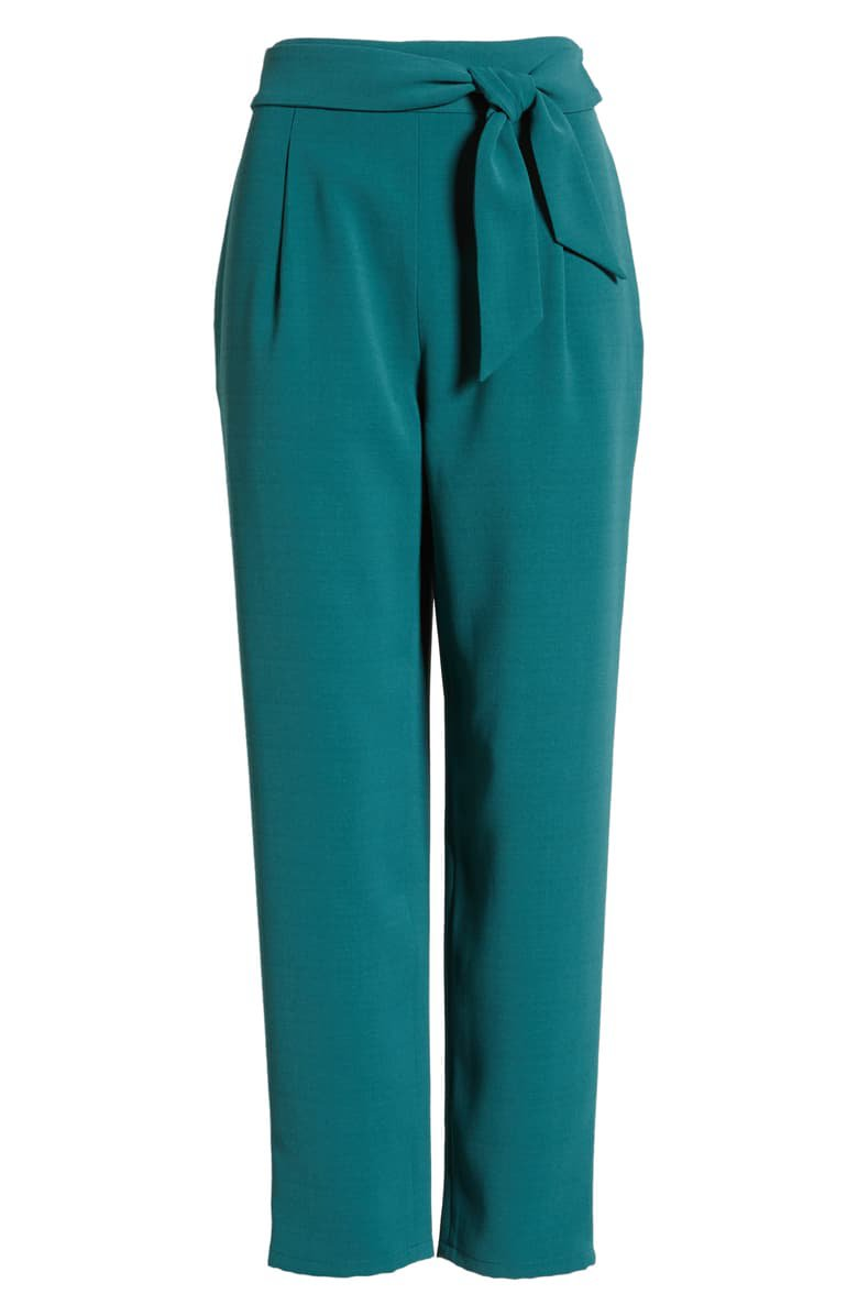 Leith Tie Front Pants | Nordstrom