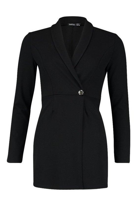 Tailored Blazer Playsuit | Boohoo