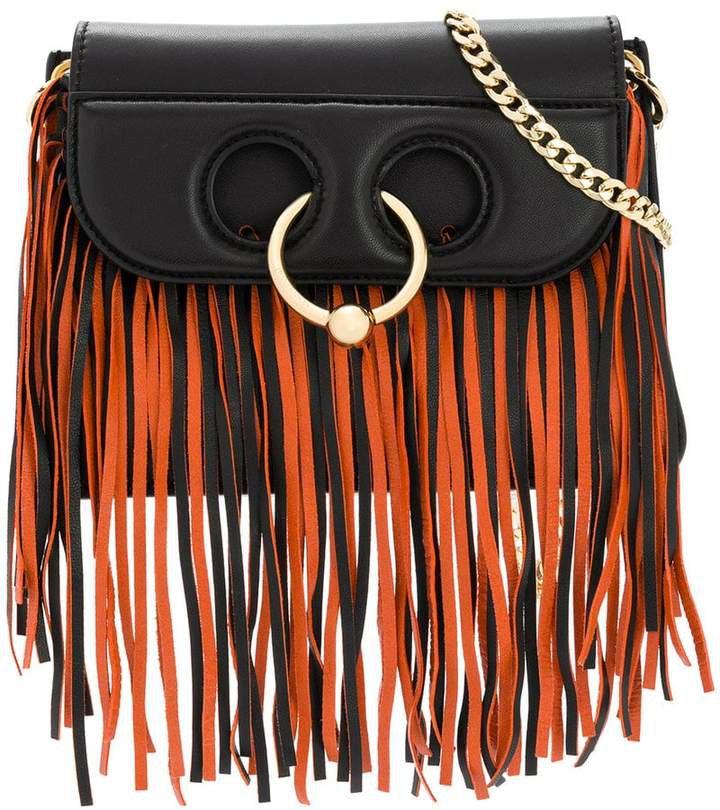 fringed shoulder bag