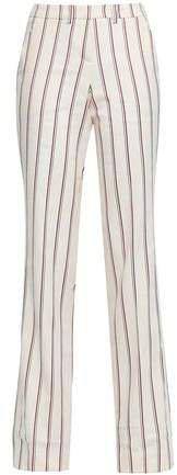 Farah Striped Twill Straight-leg Pants