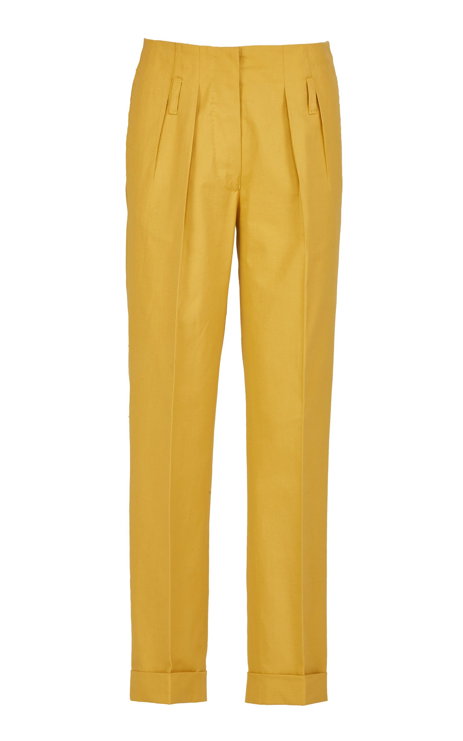 Giuliva Heritage Collection Gastone Raw Cotton Twill Trousers