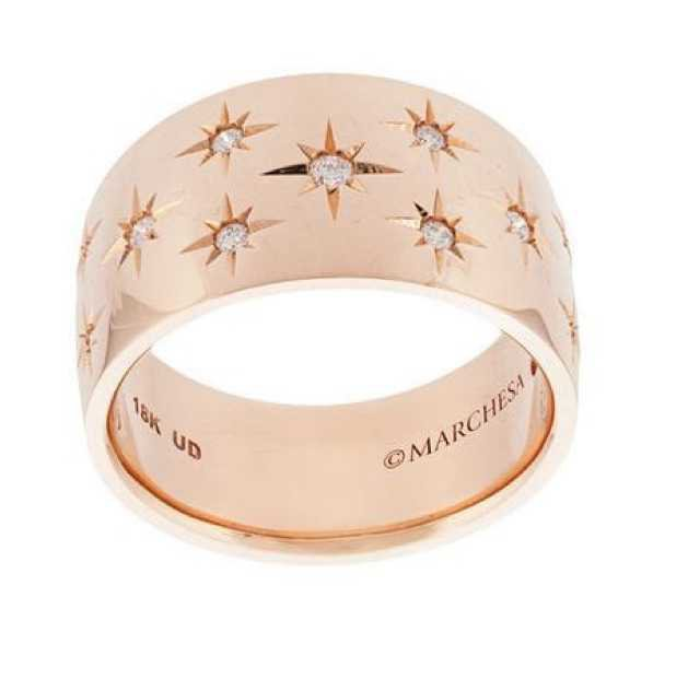 Marchesa Rose Gold Ring