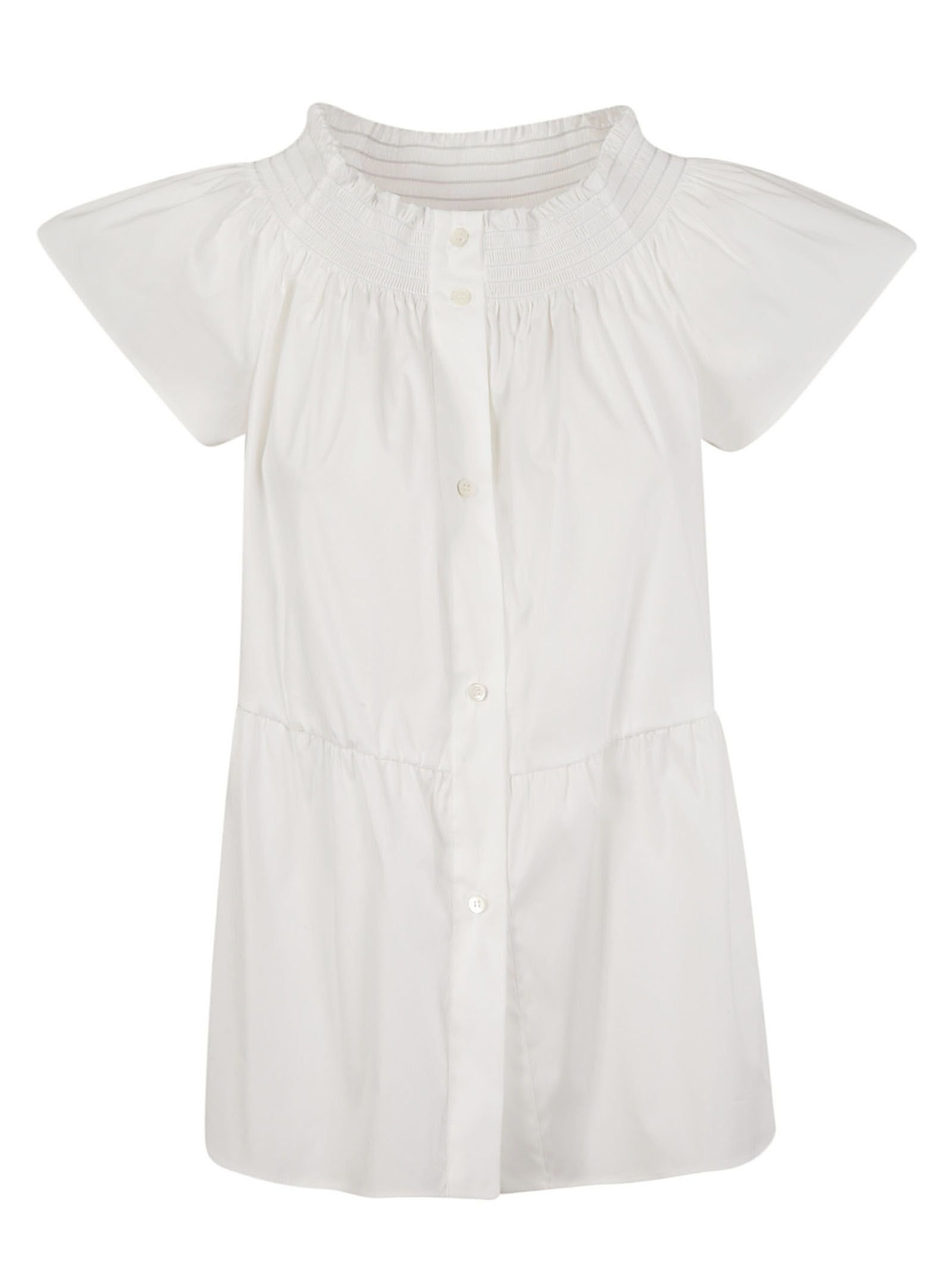 Red Valentino Buttoned Blouse