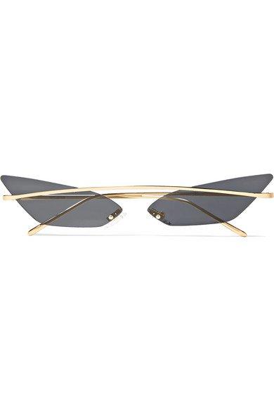 Poppy Lissiman | Skinny Demon cat-eye sunglasses