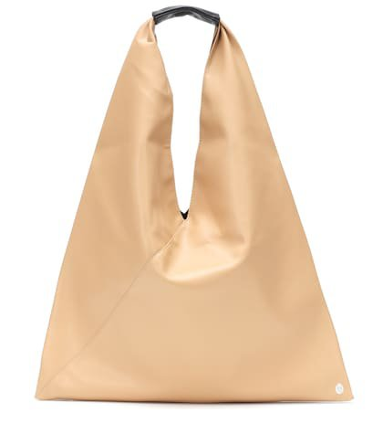 Japanese faux leather tote