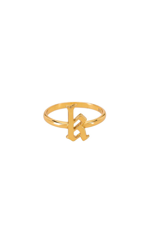 The Gothic Letter K Ring
