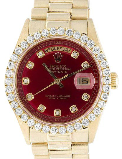 rolex-yellow-gold-red-mens-president-18k-day-date-36mm-diamond-ct-watch-0-1-540-540.jpg (414×540)